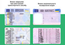 У нових посвідченнях водія буде зазначено групу крові та згоду чи незгоду на донорство