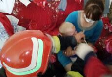 У Славуті однорічний хлопчик застряг рукою між лезами шатківниці