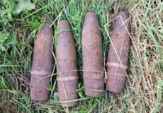 У двох селах Шепетівщини знайшли артилерійські снаряди, що були у бойовому стані