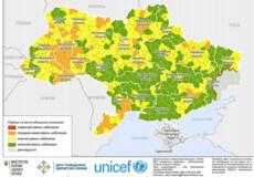 Шість районів Хмельниччини потрапили до «помаранчевої» зони, 11 — до «жовтої»
