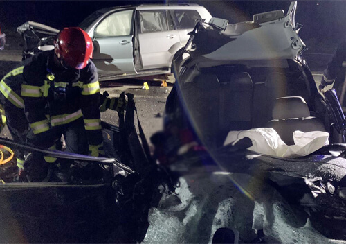 На Хмельниччині внаслідок автотрощі загинули водій та пасажирка