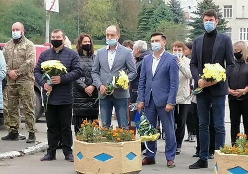 На Шепетівщині вшанували захисників України