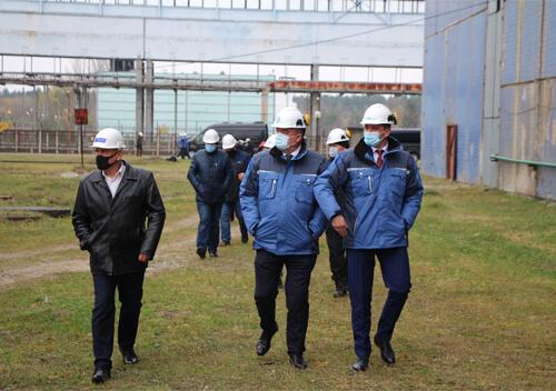 На Хмельницькій АЕС відбулася нарада з приводу будівництва 3-го та 4-го енергоблоків