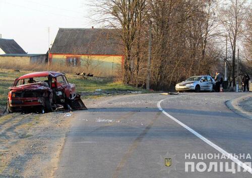 На Ізяславщині п'яний водій, що втікав від поліції та скоїв ДТП із 4 травмованими, сяде за грати
