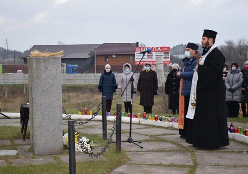 Шепетівчани вшанували земляків вбитих голодом у 1932–1933 роках