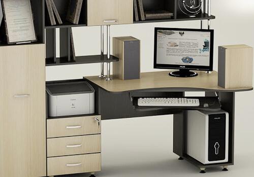 Сучасні комп'ютерні столи— практичний вибір для дому та офісу