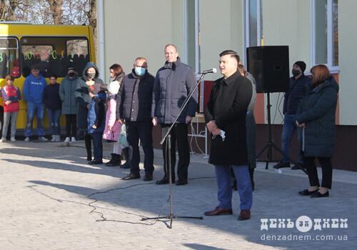 Корчицький НВК отримав новий шкільний автобус