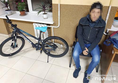 У Хмельницькому поліцейські затримали серійного велокрадія