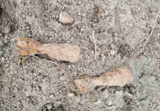 У Грицеві неподалік професійного училища виявили дві міни