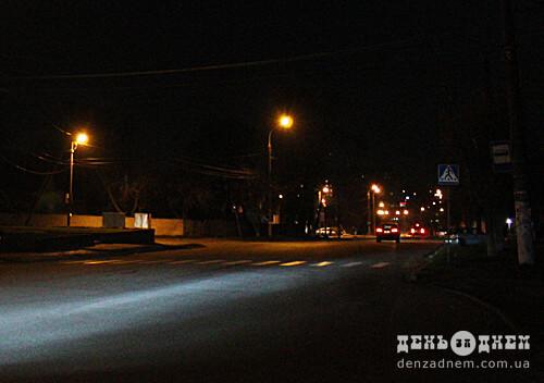 Задля слідчого експерименту в Шепетівці на годину вимкнуть вуличне освітлення