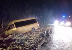 На Хмельниччині легковик не розминувся з маршруткою: є травмовані