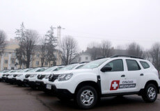 Сільські амбулаторії Шепетівського району отримали 6 нових Renault Duster