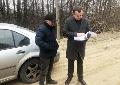 Тривають роботи з середнього ремонту ділянки на дорозі Кам'янка — Шепетівка