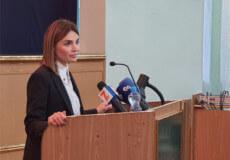 Вперше Хмельницьку обласну раду очолить жінка — 34-річна Віолетта Лабазюк