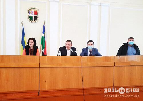 На сесії Шепетівської райради розглянули бюджет у мільйон гривень та питання про передачу майна