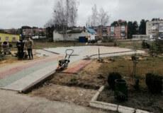 У Славуті продовжують облаштовувати ірландський сад