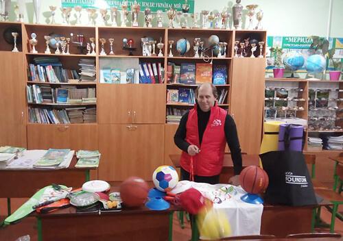 Вчитель Судилківської ОТГ отримав нагороди від Фонду Кличка
