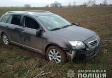 Четверо молодиків з Нетішина викрали автомобіль у іншій області та скоїли ДТП