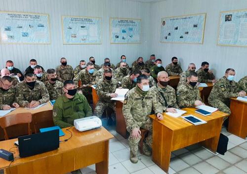 У Шепетівці провели заняття з територіальної оборони Хмельниччини