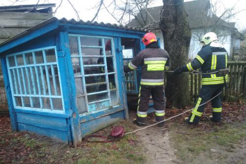 Надзвичайники Білогірщини врятували чотирилапого