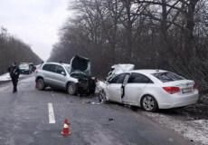 На Білогірщині сталася ДТП з 6-ма потерпілими