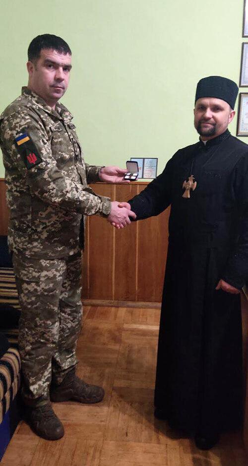 Капелан із Шепетівки отримав «Козацький хрест»