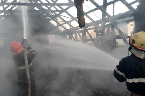 На Полонщині сталася пожежа у жіночому монастирі
