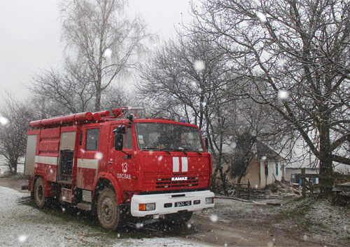 На Хмельниччині під час ліквідації пожежі виявлено тіла чоловіка та жінки