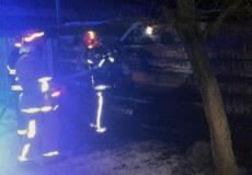 У Шепетівці сталася пожежа у приватному секторі