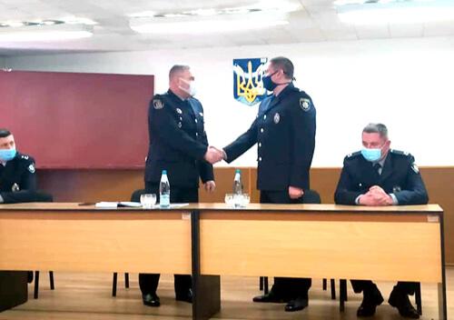 У Нетішині поліцію очолив майор