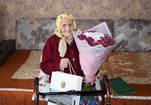 Довгожителька з Шепетівщини відзначає 100-річний ювілей
