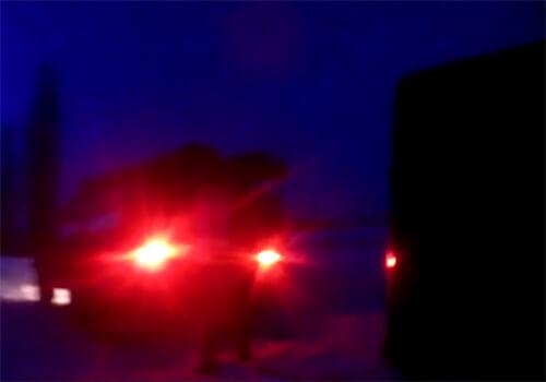 У Шепетівському районі рейсовий автобус із пасажирами потрапив у сніговий замет