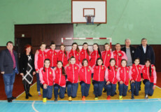 Юні футболістки Славути отримали нову форму