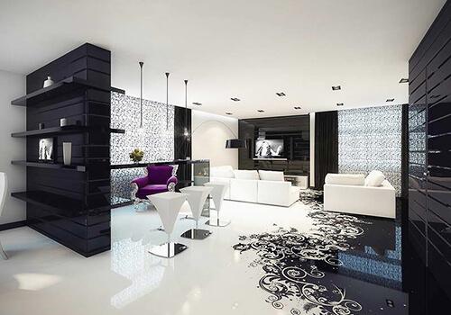 Дизайн інтер'єру | Наливна підлога