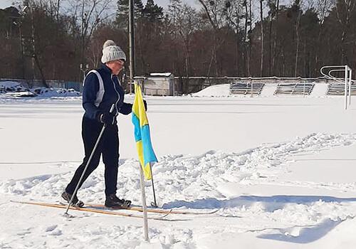У Шепетівці пройшли змагання з лижних гонок