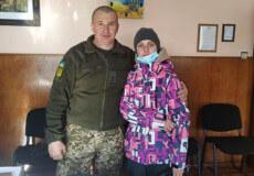 Молоду мешканку Полонного нагородили нагрудним знаком «Ветеран війни — учасник бойових дій»