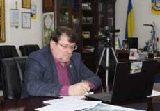 Мер Славути взяв участь в онлайн-нараді під головуванням Прем'єр-міністра України щодо тарифу на газ