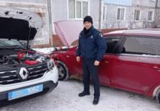 Нетішинський офіцер громади врятував водія, що став заручником негоди