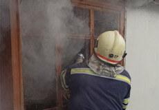 У Полонному пожежа літньої кухні завдала 30 тисяч збитків