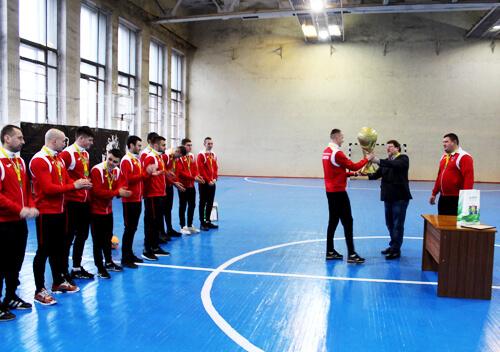Команда ФК «Славута» заявлена на гру в першій лізі України
