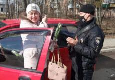 В Ізяславі патрульні зупиняли жінок-водіїв