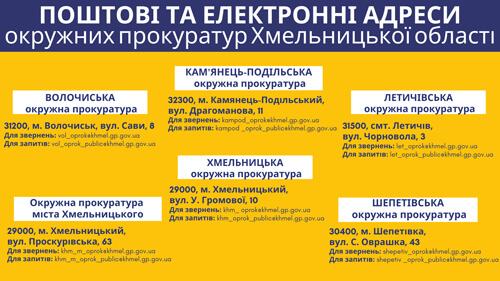 Шепетівська місцева прокуратура припинила свою діяльність через реорганізацію