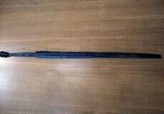 Один з трьох рідкісних середньовічних мечів зберігається у музеї Шепетівки
