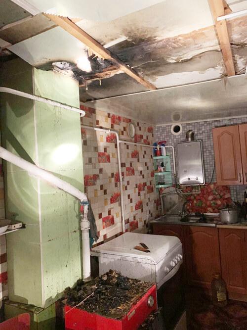 У Шепетівському районі вночі сталася пожежа будинку