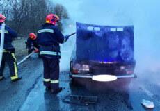 У Шепетівському районі згорів автомобіль