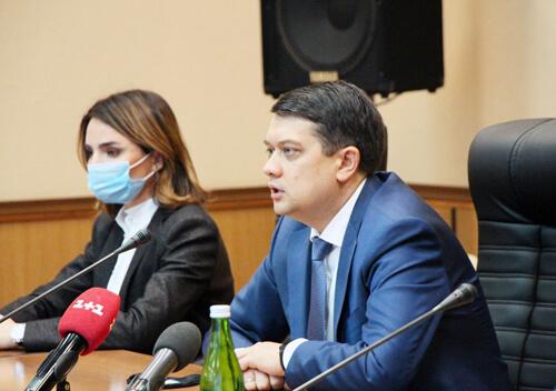 Голова Верховної Ради України Дмитро Разумков відвідав Нетішин