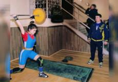 Юнка з Шепетівки представить Хмельниччину на чемпіонаті України з важкої атлетики