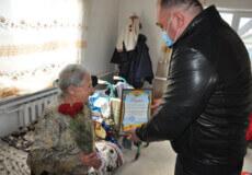 На Білогірщині колгоспниця відзначила 95-річчя