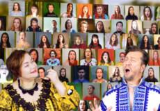 Ізяславчанки заспівали в проєкті «Віртуальний хор в Україні»