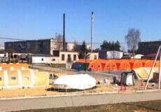 Ковідні відділення переповнені: пацієнтів почали госпіталізувати до мобільного госпіталю у Славуті
